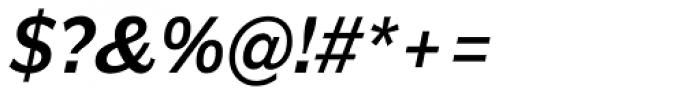 Americane Medium Italic Font OTHER CHARS