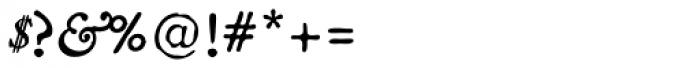 Americanus Italics Pro Font OTHER CHARS