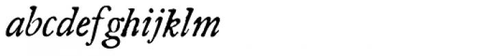 Americanus Italics Pro Font LOWERCASE