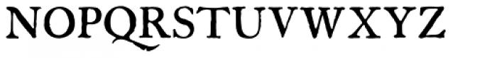 Americanus Pro Font UPPERCASE