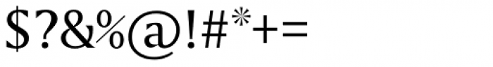 Amerigo Cyrillic Font OTHER CHARS