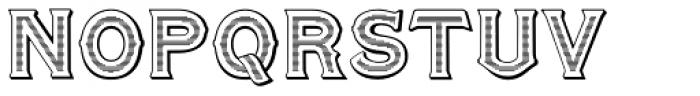 Amersham Normal Font UPPERCASE