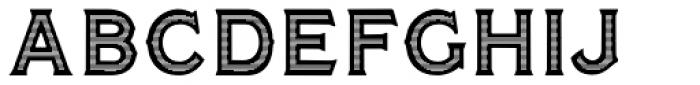 Amersham Reverso Font UPPERCASE