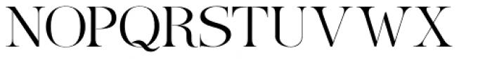 Ames' Roman Light Font UPPERCASE