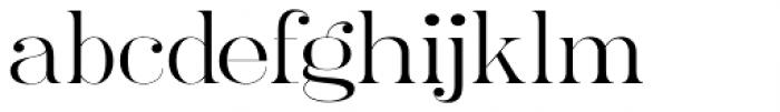 Ames' Roman Light Font LOWERCASE