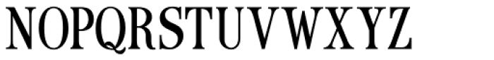 Ames' Text Condensed Light Font UPPERCASE