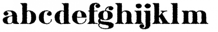 Ames' Weathered Font LOWERCASE