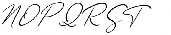 Ametrine Italic Font UPPERCASE