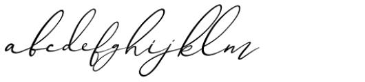 Ametrine Italic Font LOWERCASE