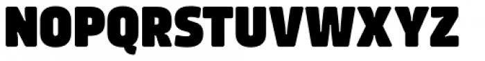 Amfibia Black Condensed Font UPPERCASE