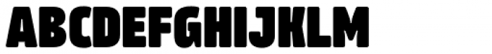 Amfibia Black Narrow Font UPPERCASE
