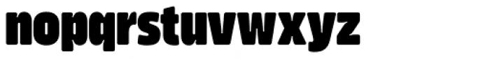 Amfibia Black Narrow Font LOWERCASE