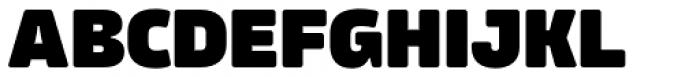 Amfibia Black Font UPPERCASE