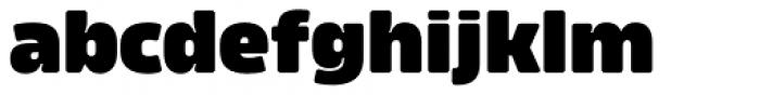 Amfibia Black Font LOWERCASE