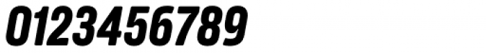 Amfibia Bold Narrow Italic Font OTHER CHARS