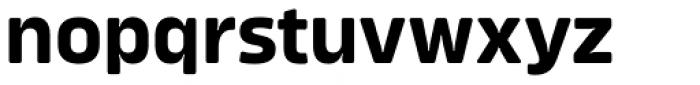 Amfibia Bold Font LOWERCASE