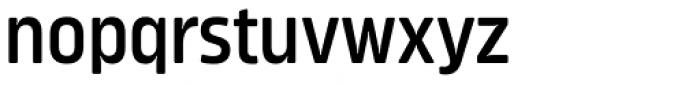 Amfibia Demi Bold Condensed Font LOWERCASE