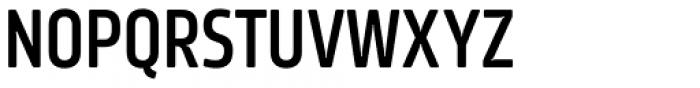 Amfibia Demi Bold Narrow Font UPPERCASE