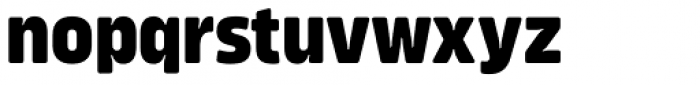 Amfibia Extra Bold Condensed Font LOWERCASE