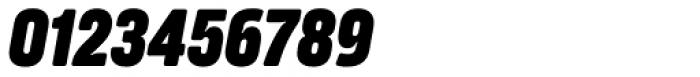 Amfibia Extra Bold Narrow Italic Font OTHER CHARS