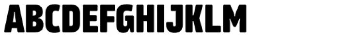 Amfibia Extra Bold Narrow Font UPPERCASE