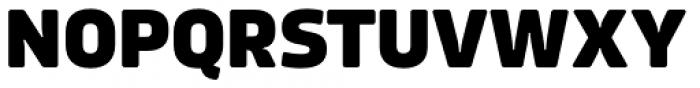 Amfibia Extra Bold Font UPPERCASE
