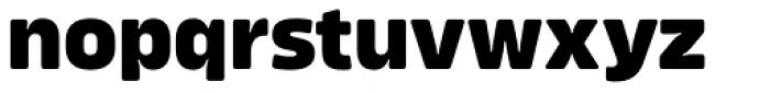 Amfibia Extra Bold Font LOWERCASE