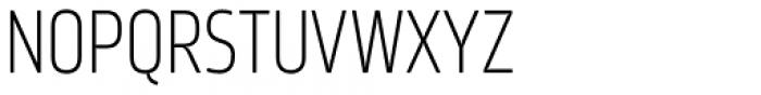 Amfibia Light Narrow Font UPPERCASE