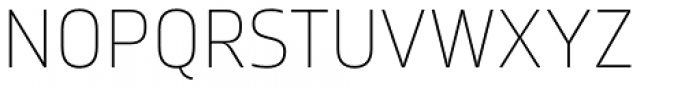 Amfibia Thin Font UPPERCASE