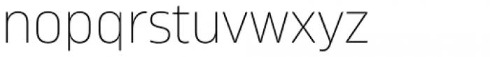 Amfibia Thin Font LOWERCASE