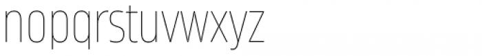 Amfibia Ultra Thin Narrow Font LOWERCASE