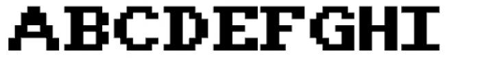 Amiga Font UPPERCASE