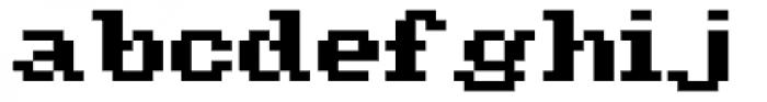 Amiga Font LOWERCASE