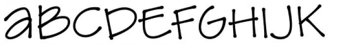 Amike Bold Font UPPERCASE