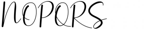 Amillina Regular Font UPPERCASE