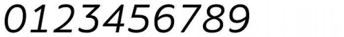 Amino Italic Font OTHER CHARS