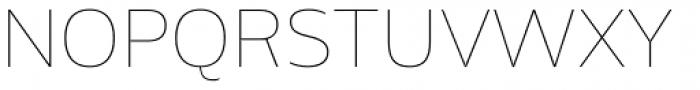 Amino Thin Font UPPERCASE