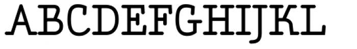 Aminta Medium Font UPPERCASE