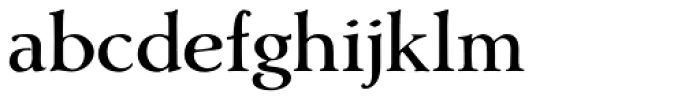 Amitale Wide Font LOWERCASE
