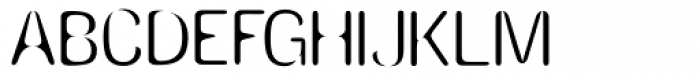 Amnesia Light Font UPPERCASE