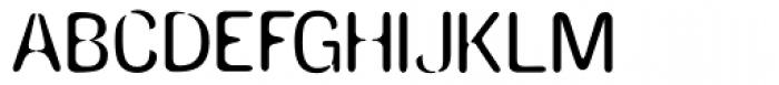 Amnesia Medium Font UPPERCASE