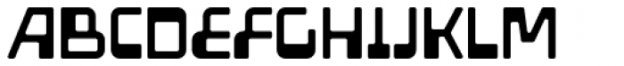 Amoeba Font UPPERCASE