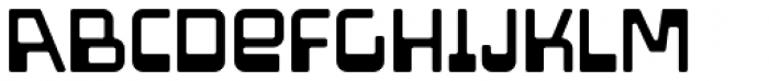 Amoeba Font LOWERCASE