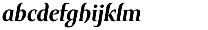 Amor Serif Text Bold Italic Font LOWERCASE