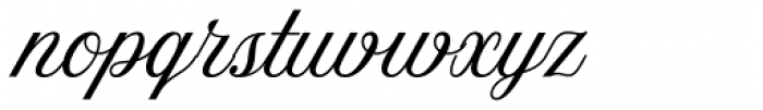 Amoresa Regular Font LOWERCASE