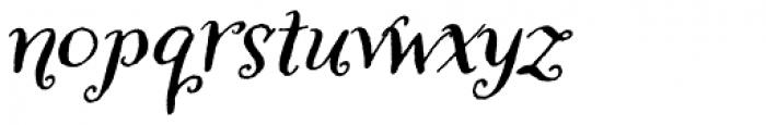 Amoretta Dark Italic Font LOWERCASE