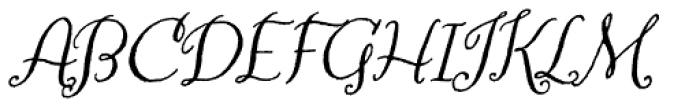 Amoretta Italic Font UPPERCASE