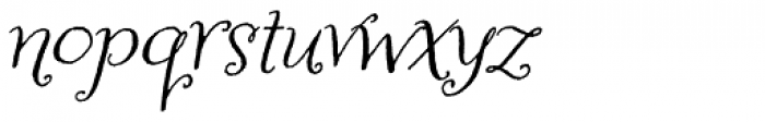 Amoretta Italic Font LOWERCASE