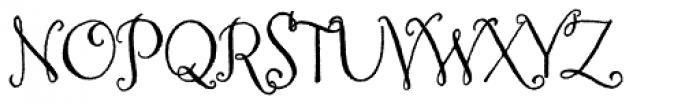 Amoretta Font UPPERCASE