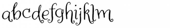 Amoretta Font LOWERCASE